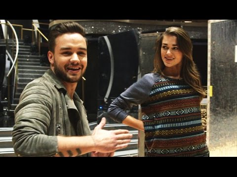 Liam Payne Surprises Sadie Robertson On Dancing With The Stars