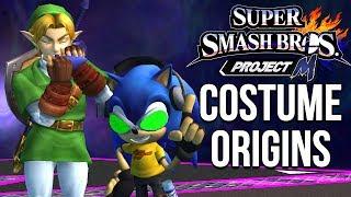 Super Smash Bros. Costume Origins - Project M Costumes – Aaronitmar