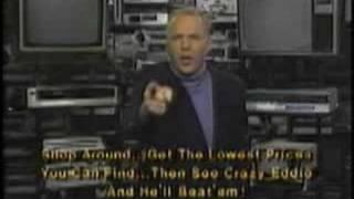 Crazy Eddie commercial 1986