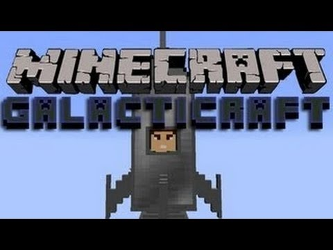 Minecraft 1.7.4 - Galactic Craft Mod! Review/Download