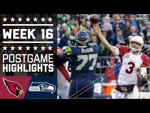 Cardinals Vs Seahawks Nfl Week 16 Game Highlights