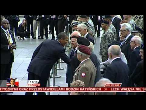 Barack Obama in Warsaw,Poland 27.V.2011