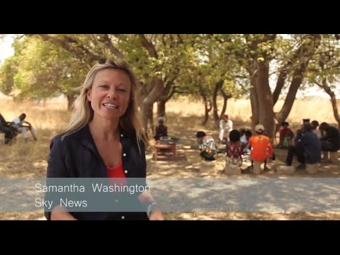 Banking on Change: Sky News' Sam Washington in Zambia