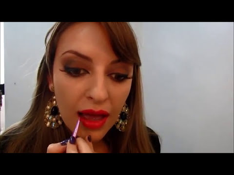 Maquiagem Sofisticada para Noite - por Cacau Silva