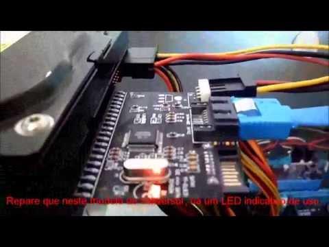 Como instalar HD IDE em placa-mãe SATA