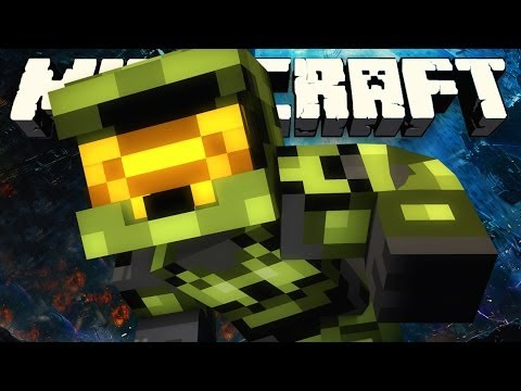 MINECRAFT MASTER CHIEF! (Minecraft **NEW** HALO CRAFT!)