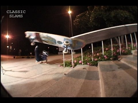 Skateboarder Gets Sacked on Rail Classic Skateboard Slams #33