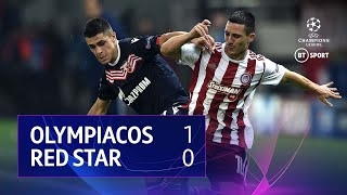 Olympiacos vs Red Star (1-0) | UEFA Champions League Highlights