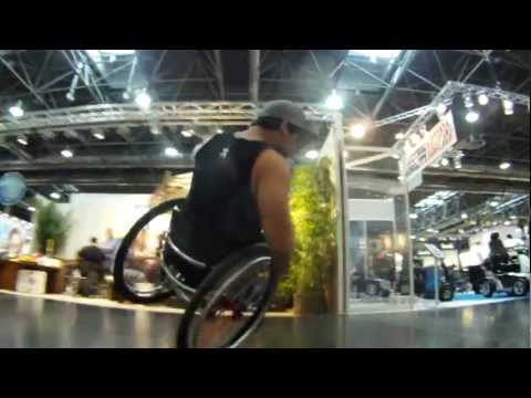 Fun on Chairs @ Rehacare 2012 /w Aaron