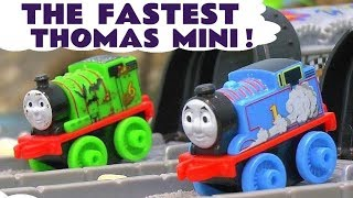 Thomas & Friends Minis Racing - Who Is The Fastest Toy Train in this fun story for kids TT4U