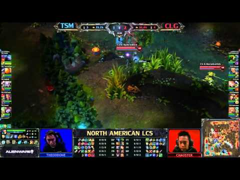 TSM vs CLG - LCS 2013 NA Spring W7D1 (English)