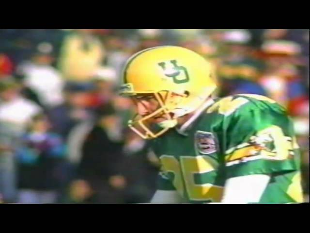 Oregon WR Cristin McLemore 15 yard touchdown catch vs. ASU 11-05-1994