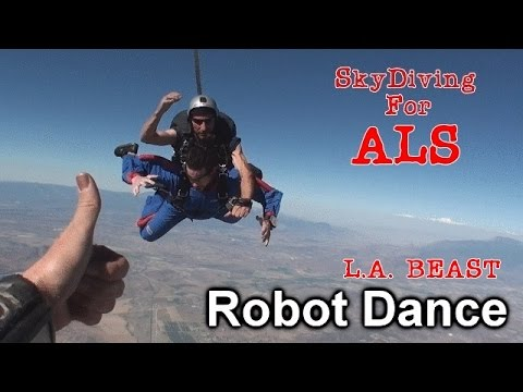 L.A. BEAST | SkyDiving For ALS Awareness (Ft. The Ice Bucket Challenge)