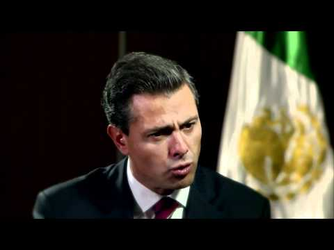 Pena Nieto Outlines Agenda on Drug Trafficking, Economy
