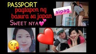 Pagtapon ng Basura sa Japan 💋 Eto na Passport ko😍