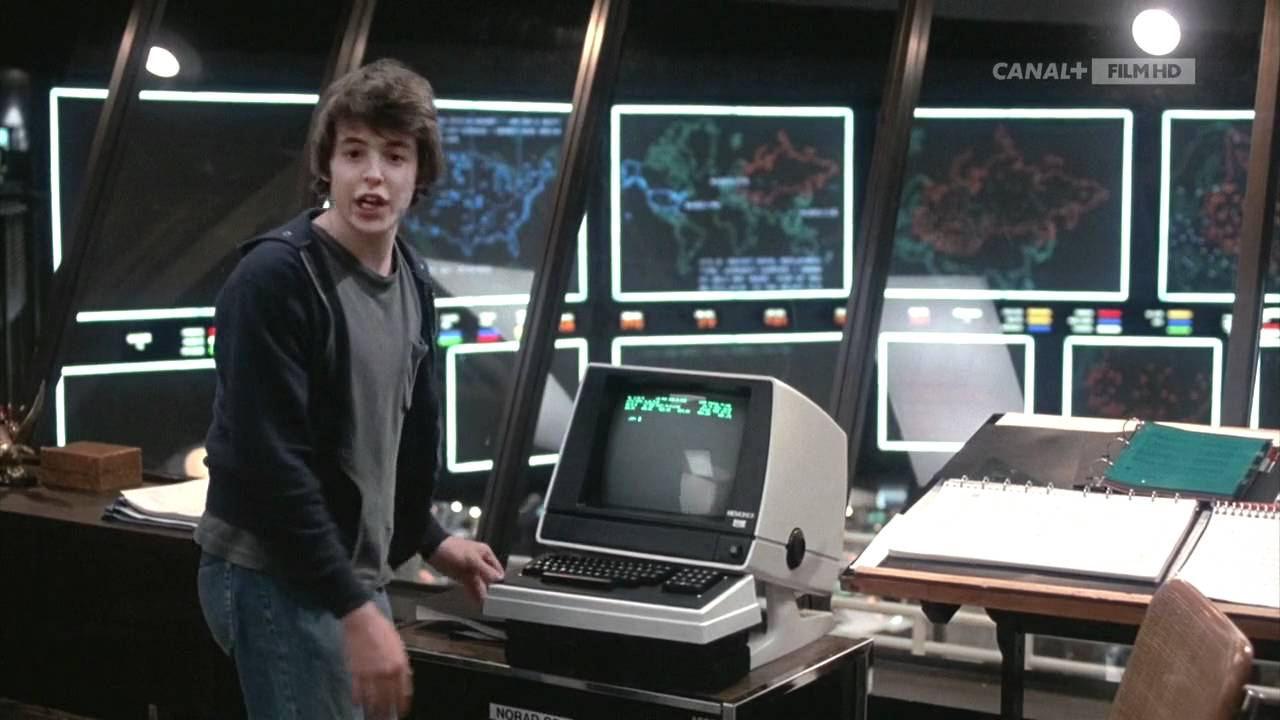 Wargames 1983 - The voice of WOPR - YouTube