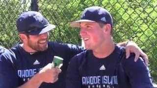Rhody Baseball - Chase Livingston interviews Tyler Wilson