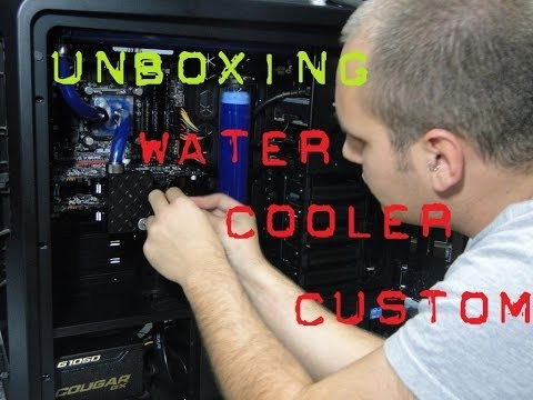 UNBOXING Peças de Water Cooler CUSTOM !