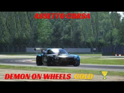 ASSETTO CORSA PS4 DEMON ON WHEELS SPECIAL EVENT GOLD MEDAL BMW Z4 GT3 SETUP