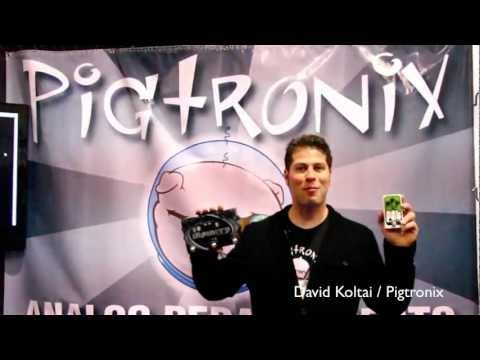 Pigtronix / Infinity Looper demo / NAMM 2012 / Vintage & RareTV