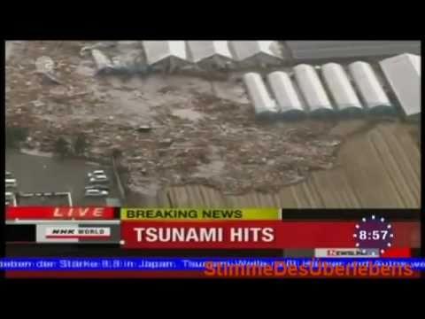 Japan Earthquake with Tsunami hits 10-03-11 MMN NEWS