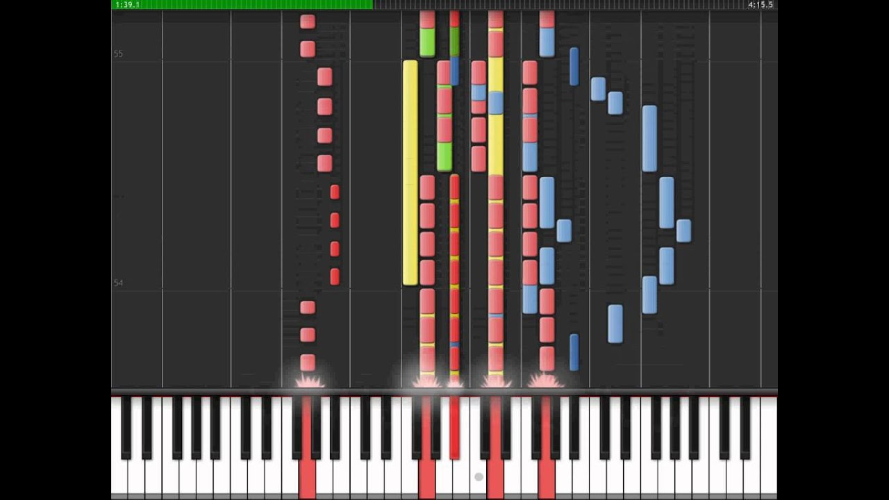 how to play mission impossible piano tutorial
