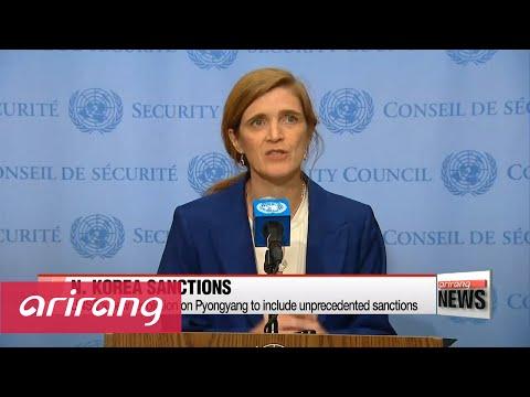 U.S. submits 'toughest' N. Korea sanctions to UN Security Council