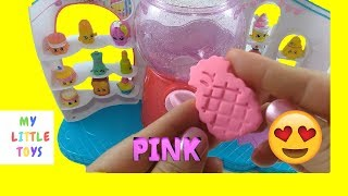Shopkins Play doh dispenser learn colors and alphabet for toddlers