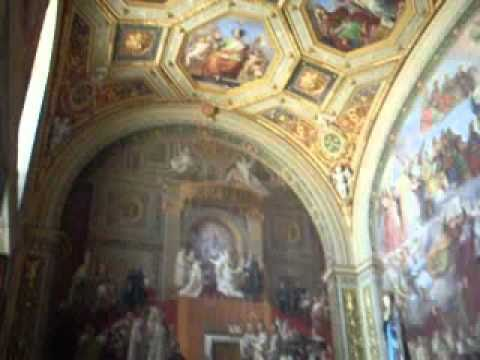 Inside St. Peters Church Vatican Rome Italy Audio Guide