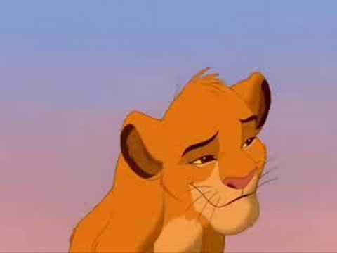 The Lion King Soundtrack - Can you feel the love tonight Elton John.