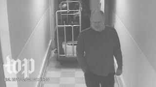 Watch surveillance video of the Las Vegas shooter