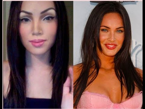 MEGAN FOX  Make-up Transformation !!!!
