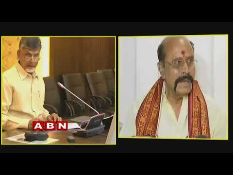 CM Chandrababu angry on Vijayawada Durga Temple  Management  over Saree Missing | Inside