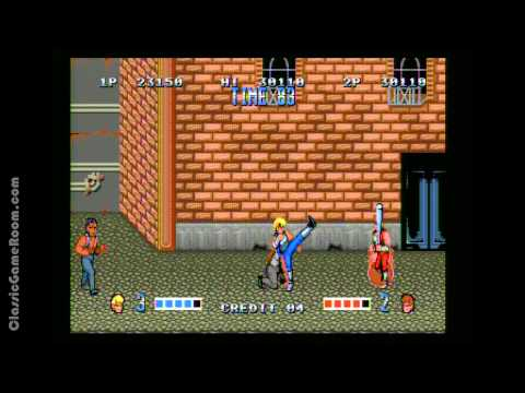 Classic Game Room - DOUBLE DRAGON review for Sega Genesis