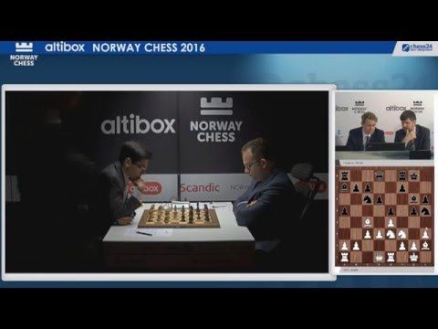 Altibox Norway Chess 2016 - Round 1