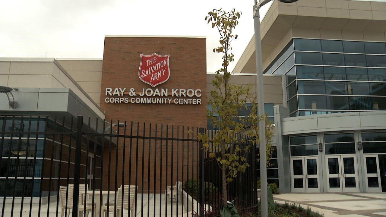 Kroc community center opens in camden youtube for Kroc center