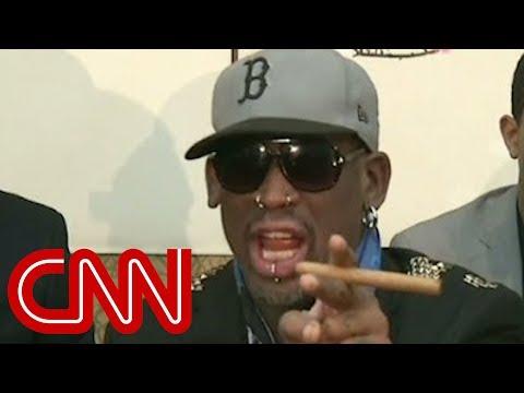 Dennis Rodman gets fiery with CNN
