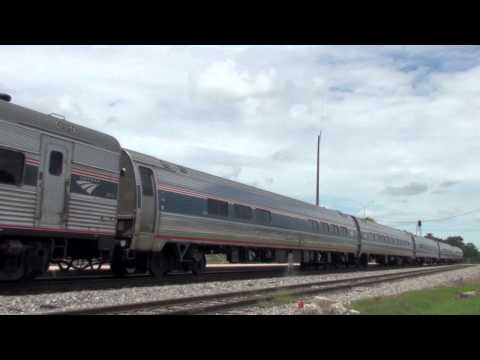 Amtrak 92 at Okeechobee, FL