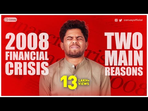 2008 financial crisis के 2 मुख्य कारण   Explained and simplified in Hindi (Case study)