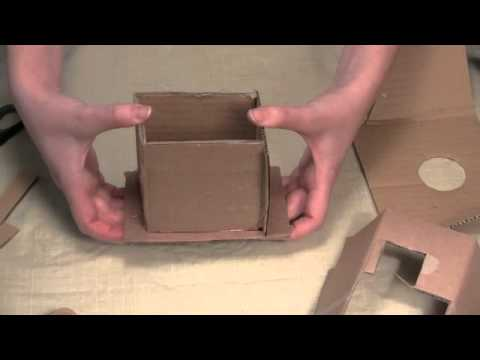Cardboard Candle Molds Your Own Cardboard Mold