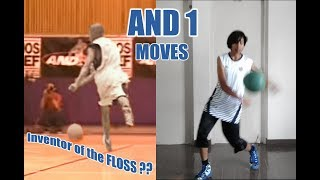 AND 1 STREETBALL MOVES !! epic skills and tricks !