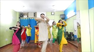 Nachde Ne Saare Dance Video Tutorial l Baar Baar Dekho l Easy Choreography l Wedding Style