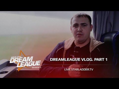Road to DreamHack. DreamLeague V-log part 1.