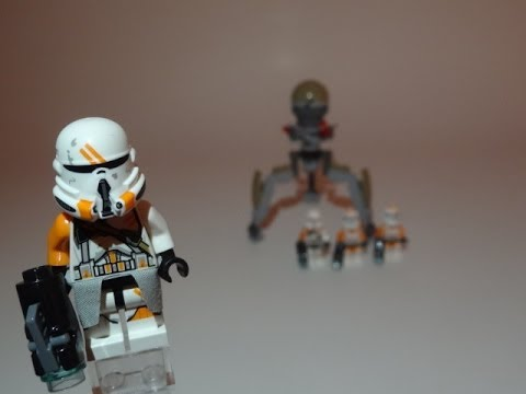 LEGO Star Wars Utapau Troopers Battlepack Review 75036