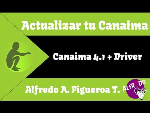 Instalación de Canaima 4.1 en una Canaima 4 + Driver.