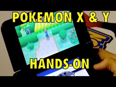 Pokemon X and Y Demo Hands-on Review. GET EXCITED!