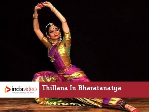 Thillana In Bharatanatyam By Savitha Sastry video