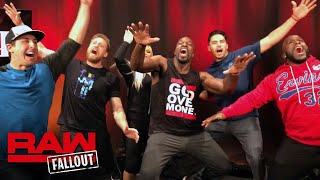 The San Francisco Giants join Titus Worldwide: Raw Fallout, Feb. 19, 2018