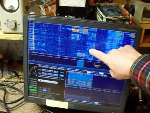 Part 3 Ensemble II SDR software defined radio receiving test