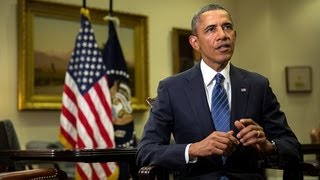 Weekly Address: Calling for Limited Military Action in Syria  9/7/13